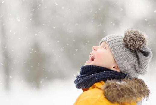 Familienzeit im Winterwunderland