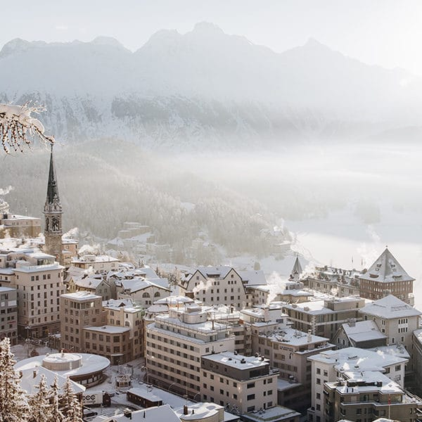 Winter in the Engadin