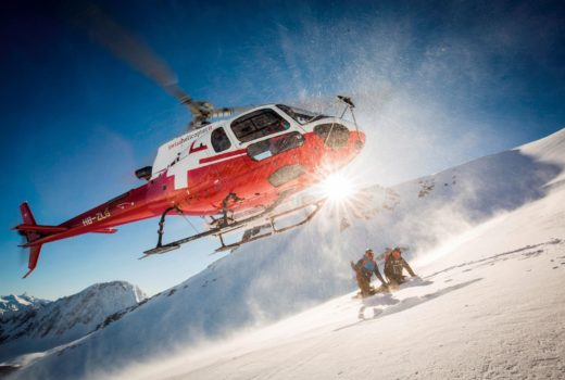 Heliskiing in Switzerland