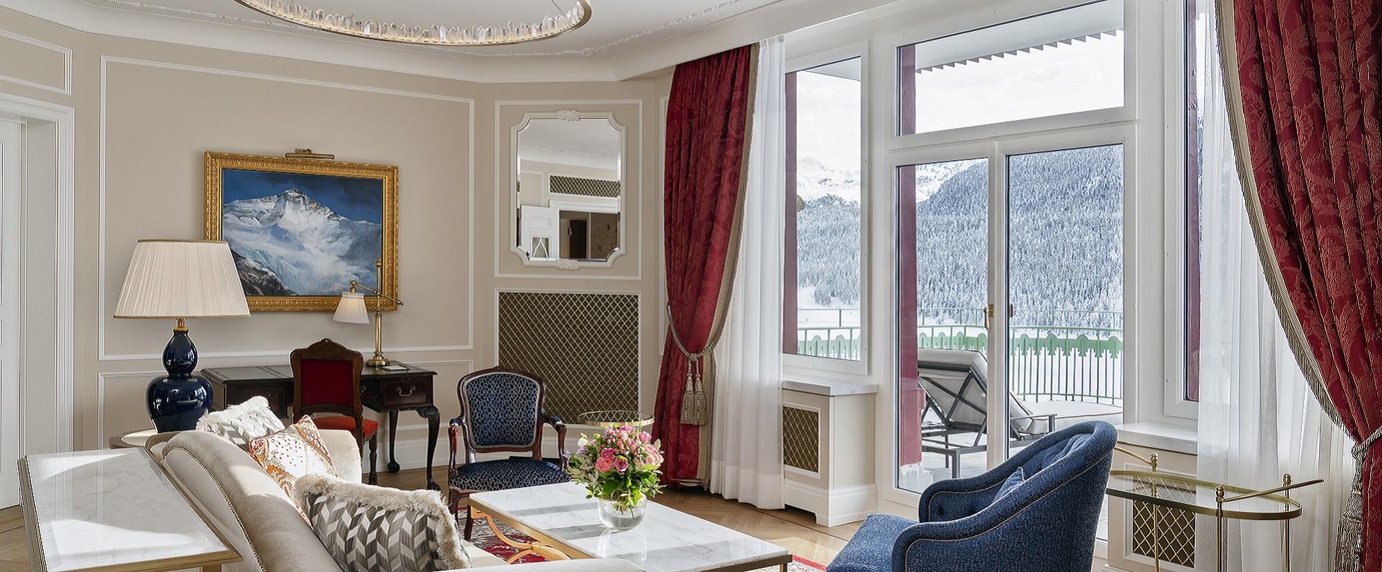 Zweibett-Suite St. Moritz